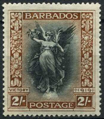 Barbados 1920-21 SG#210, 2s Victory MH #D84457