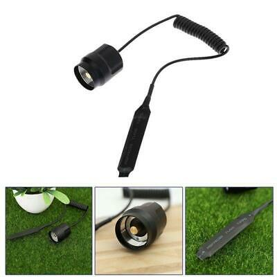 Black Remote Pressure Switch For Q5/T6 LED Toech Flashlight Rat Tail Switch A++