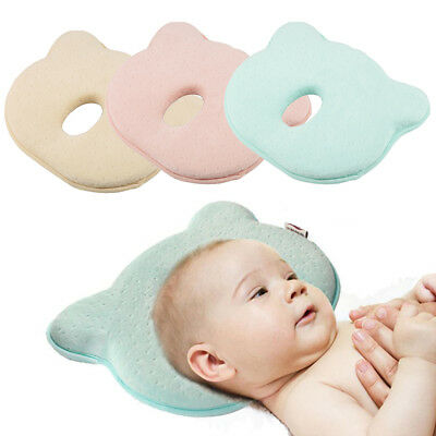 Baby Soft Pillow Prevent Flat Head Memory Foam Cot Cushion Sleeping Support
