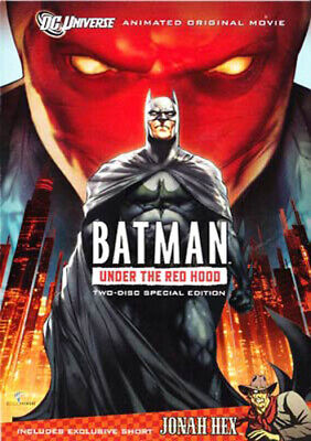 Batman: Under the Red Hood (2 Disc, Special Edition) DVD NEW