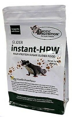Exotic Nutrition - Instant HPW 16, 32 oz for sugar gliders