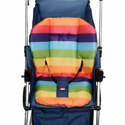 Colorful Car Seat Pad Pram Comfortable Cotton Baby Infant Stroller Seat Cover