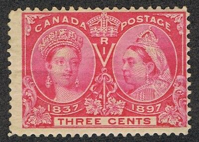 Canada 53 MNH Queen Victoria Jubilee lower right coner missing glue