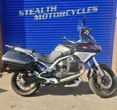 Moto Guzzi Stelvio 1200 8V 2008 With Only 15816 On The Cloco