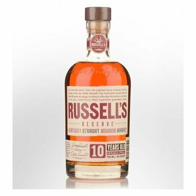 New Wild Turkey Russell's Reserve 10 Year Old Bourbon Whiskey 40.5% 750ml