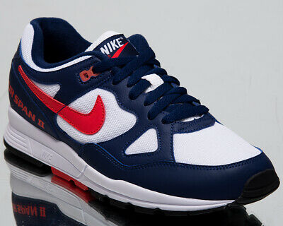 404a47b5361ed Nike Air Span II Men s New Blue Red White Casual Lifestyle Sneakers  AH8047-404