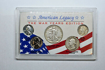 American Legacy - The War Years Edition - 5 Coin Set