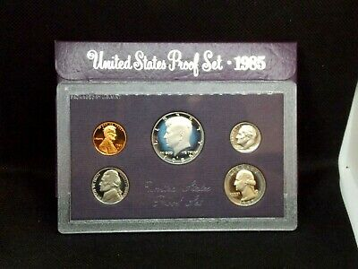 """1985 """"S"""" US Mint Proof Set   East Coast Coin & Collectables, Inc."""