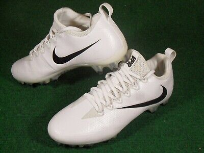 Used Mens Nike VPR Vapor Untouchable Pro Low TD Football Cleats White Black  10.5 be89df90f86f4