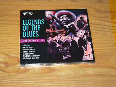 Legends Of The Blues - Vol. One (Bessie Smith) / Digipack-Cd 2008 Ovp! Sealed!