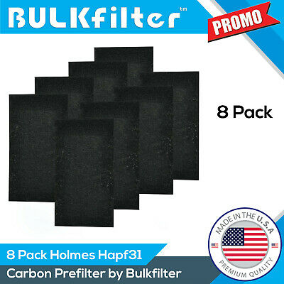 2|4|8 Pack Premium Holmes HAPF31 Carbon Pre Filters By BulkFilter