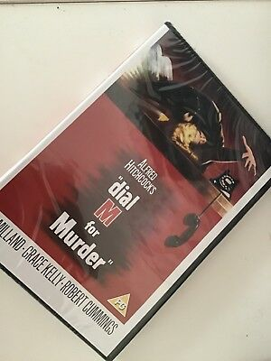 DIAL M FOR MURDER DVD FILM MOVIE ALFRED HITCHCOCK GRACE KELLY   B4 freepost