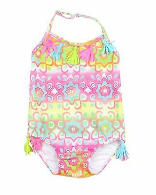 0a8695db6 $62 NWT Kate Mack Size 4T Multi Marrakesh Colorful Tasseled One Piece  Swimsuit