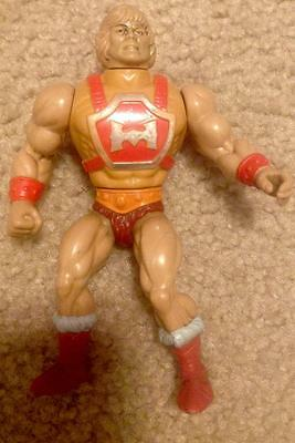 Thunder Punch He-Man 1985 Loose Action Figure Masters of the Universe Vintage