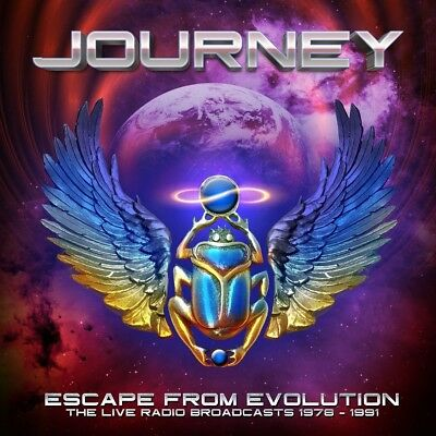 Journey - Escape From Evolution (The Live Radio Broadcasts)  2 Cd New