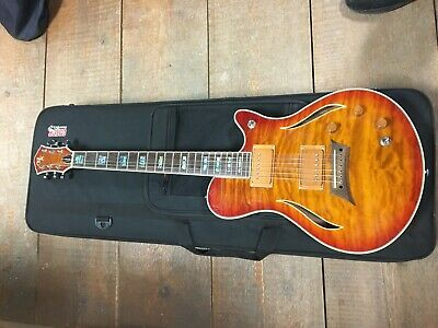 Michael Kelly Hybrid Special Semi Hollow Electric Guitar With Hard Case