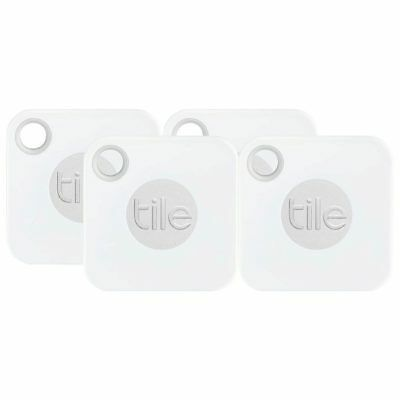NEW Tile Mate 2018 Mini Tracking Device 4 Pack [with replaceable battery]