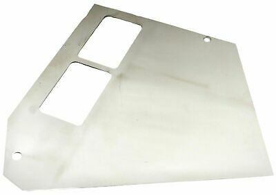 center dash trim right side 2 vent stainless 1989-09 Freightliner FLD120, FLD112