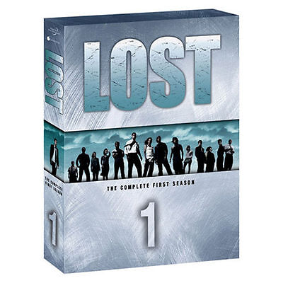 Lost: The Complete First Season (DVD, 2005, 7-Disc Set) NEW, Sealed Season One 1