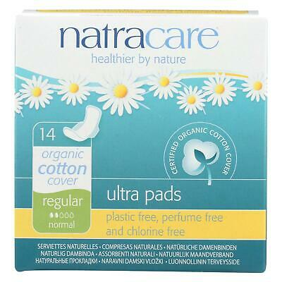 Natracare Natural Ultra Pads W/wings Regular W/organic Cotton Cover -  14 Pack