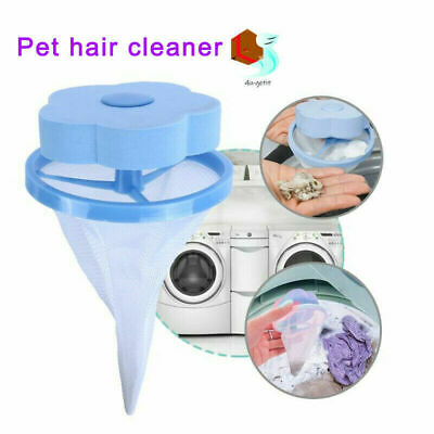 Easy Floating Pet Fur Catcher Filter Laundry Lint & Pet Hair Remover Washing