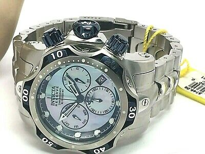 8fc3dbe63 Invicta Reserve Venom Swiss Quartz Chronograph Blue Dial Men's Watch 25976