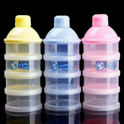 Solid Baby Food Bottle Milk Powder Box Portable Baby Infant Powder Milk Storage