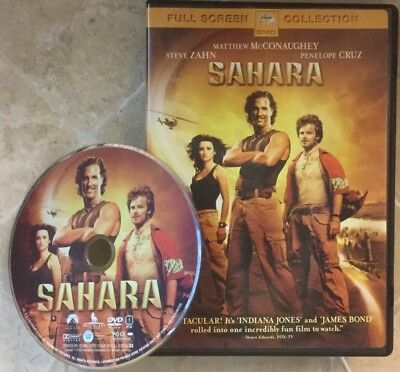 👀L@@K❗️Sahara (2005) DISC ONLY ~ MINT ~ FAST SHIP❗️