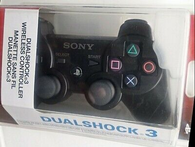 New Genuine/Official  PS3 Sony Playstation  3 Dualshock  3 Wireless Controller