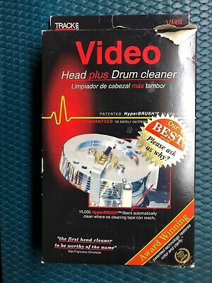 Professional Hyper Brush Head Plus Drum Cleaner Cleaning VHS Cassette TM270