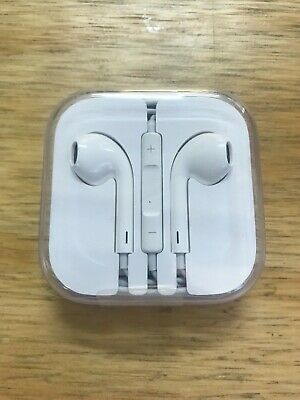 New Apple EarPods 3.5mm Jack Headphones Original Official Sealed