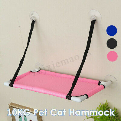 Cat Pet Hammock Basking Window Mounted Seat Home Suction Cup Hanging Bed 10Kg