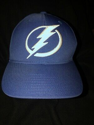 hot sale online ee8e6 2f3e8 Adidas Climalite NHL Tampa Bay Lightning Hat Cap. Fitted L XL