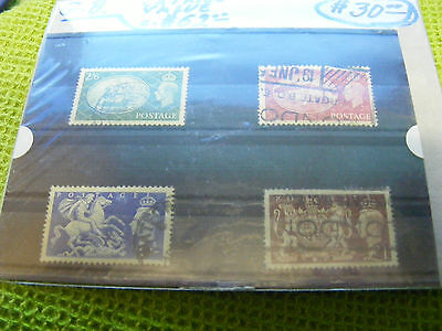 Set of Great Britain KGVI High-values stamps...used.Catalog about $62.00.