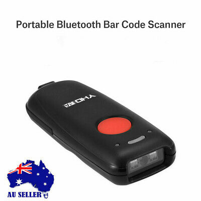 0Wireless Barcode Scanner Reader for Android  IOS Windows 7/8/10