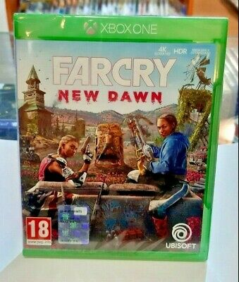 "Far Cry New Dawn XBOX ONE NUOVO SIGILLATO ITA + OMAGGIO DLC ""Tre Ruote Unicorn"""