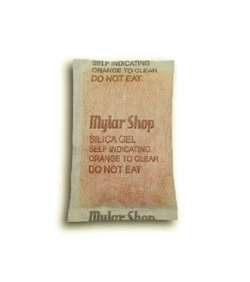 10 x 30g self-indicating silica gel desiccant sachets remove moisture, reusable