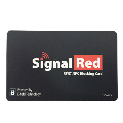 New Hotsale Contactless RFID Blocking Card Credit Card Passport Safe Protector