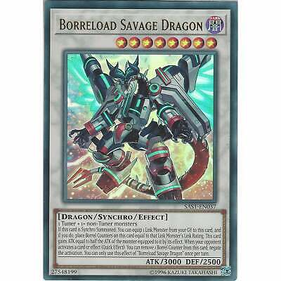 Borreload Savage Dragon SAST-EN037 - Ultra Rare Card Unlimited Ed - Yu-Gi-Oh TCG