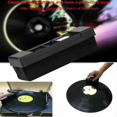 Deep Clean Vinyl Record Cleaning Fluid & Carbon Brush Cleaner Pack Au Seller New