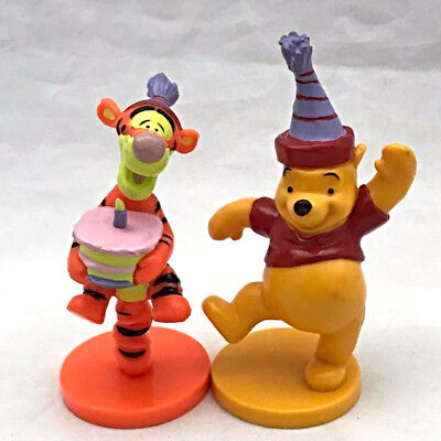 Disney Winnie The Pooh Tigger Cake Toppers Applause Decopac Birthday Party