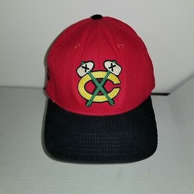 283c4f48c74 American Needle Chicago Blackhawks Throwback Cap NHL Hockey Logo Snapback  Hat