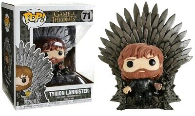 Game of Thrones - Pop! - Tyrion Lannister Sitting on Iron Throne 15 cm - Funko