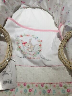 Mothercare Moses Basket. My Little Garden