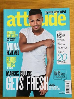 Attitude Magazine - April 2012 - Marcus Collins