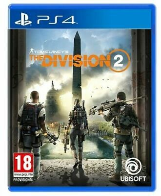 Tom Clancy's The Division 2 Ps4 Italiano Gioco Pal Videogioco Play Station 4