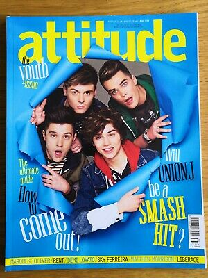 Attitude Magazine - June 2013 - Union J