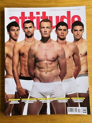 Attitude Magazine - October 2012 - Greg Rutherford - Luke Campbell - Pete Reid