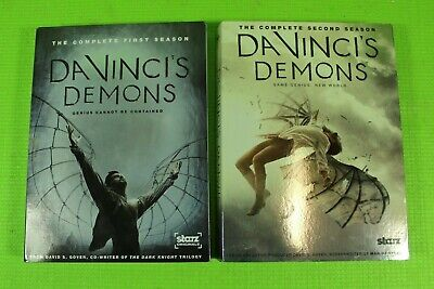 Da Vinci's Demons: Complete 1st & 2nd Seasons (DVD, 6-Disc Set) Free Shipping