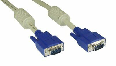 InLine S-VGA cable, InLine, beige, 15HD MM, 0.3m